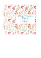 Blog Planner Blog Andrea Jesus 2017 Para Blogs Flores.xlsx