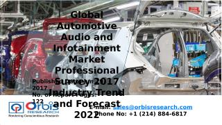 Global Automotive Audio and Infotainment Market Professional Survey 2017 Industry Trend and Forecast 2022.pptx