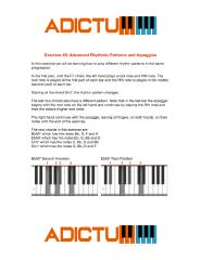 001 Exercise 45 Advanced Rhythmic Patterns and Arpeggios - Lesson Notes.pdf