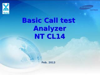 NT_CL14 Basic Call test.pptx