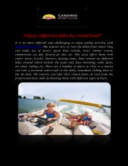 Enjoy California delta by rental boat.pdf