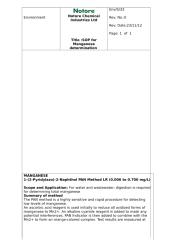 SOP for Manganese determination Rev1 on 05-01-2013.doc