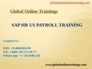 SAP HR US Payroll Training - ppt.pptx