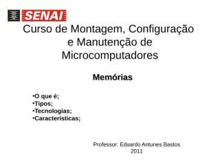 Aula 7 -  memorias.ppt