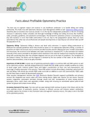 Facts about Profitable Optometry Practice.pdf