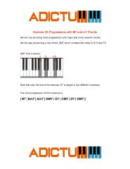 001 Exercise 40 Progressions with M7 and m7 Chords - Lesson Notes.pdf