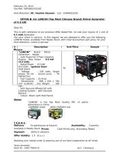 Quotation of generator  -loncin-10kva-offer294b.doc