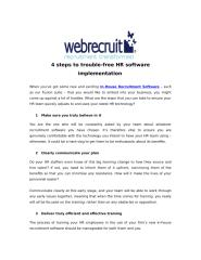4 steps to trouble-free HR software implementation .pdf