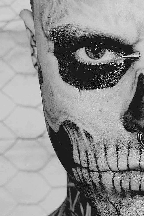 Lázarus morales - Caitiff (Camarilla) El_diablo_-_Meia_Face