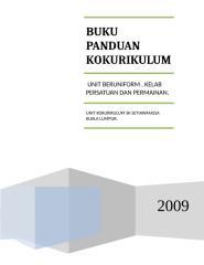 Buku Panduan Ko-Kurikulum sks 2009.doc