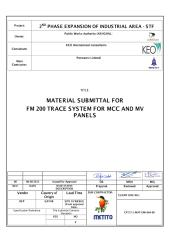 CP737-1-MAT-EMI-064-00 - Fire Trace System for MCC and MV panel Rev. 00.pdf