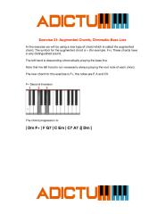 001 Exercise 31 Augmented Chords - Chromatic Bass Line - Lesson Notes.pdf