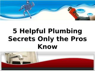 How to Resolve Plumbing Problems with the Help of Experts_.ppt