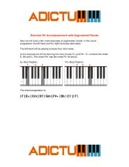 001 Exercise 32 Accompaniment with Augmented Chords - Lesson Notes.pdf