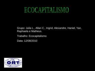Ecocapitalismo.ppt