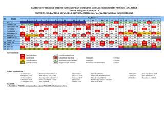 kalender pendidikan th.2013-2014 jawa timur.xls