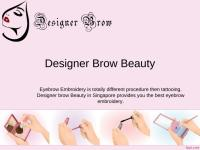 Eyebrow embroidery.ppt