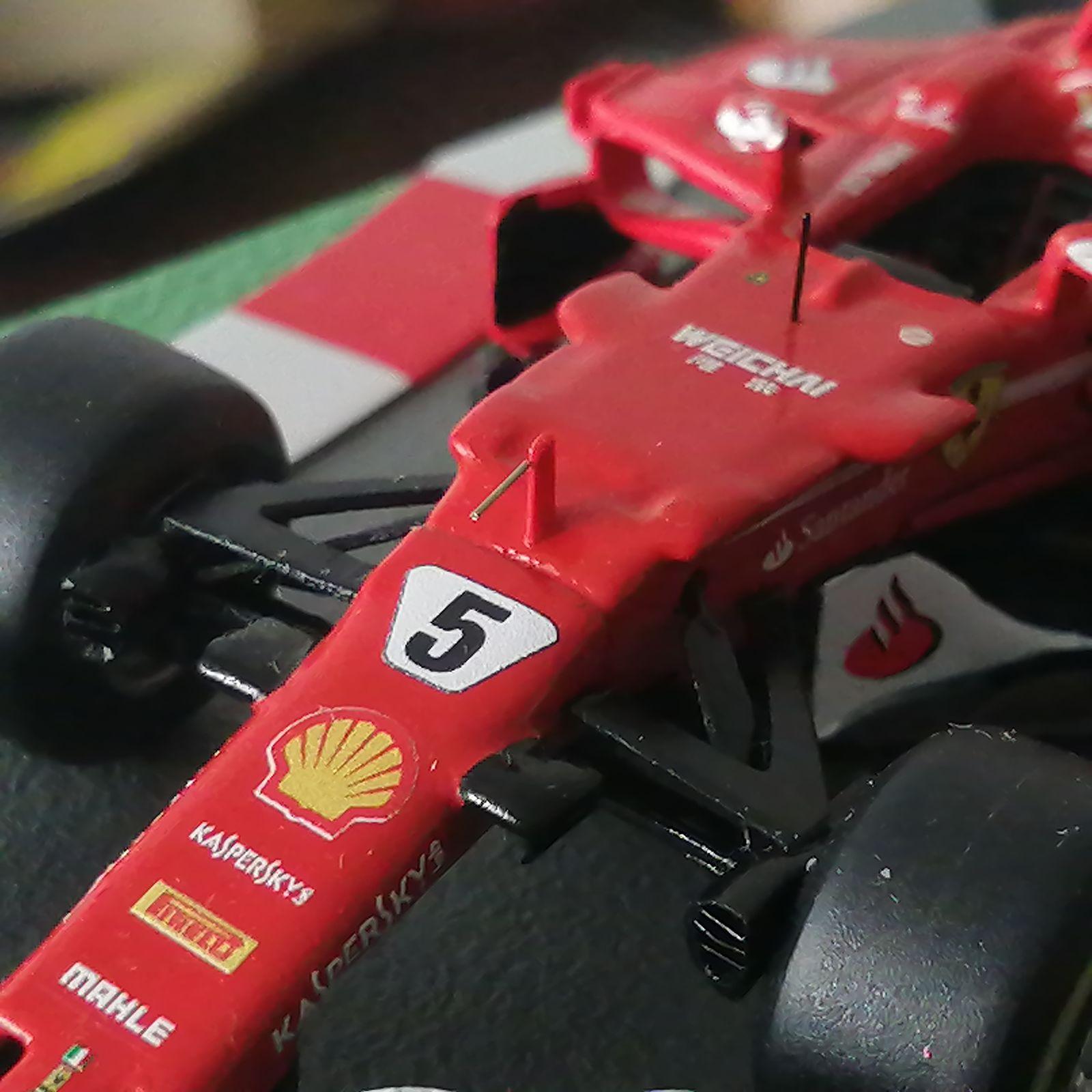 Formula 1 №32 - Ferrari SF70H - Себастиан Феттель (2017)